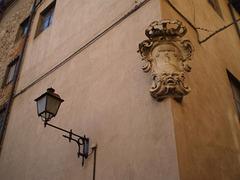 Rossi Theatre - corner detail.