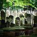Der alte Teil des Friedhofs