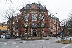 Rudolf Steiner Schule. Fischers Allee/Bleickenallee, 12.2. 2015