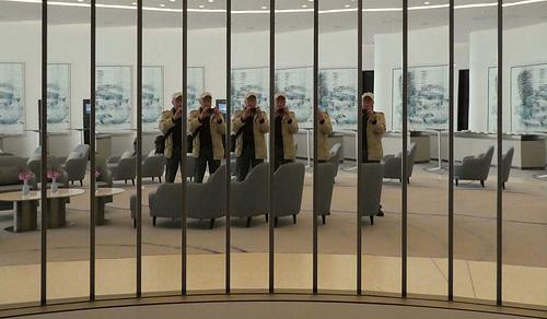 Spiegel-Selfie oder Das Gruppenfoto :-)