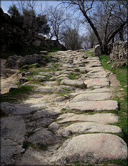 Roman Road near El Escorial.