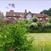 The Manor House and Garden backside...