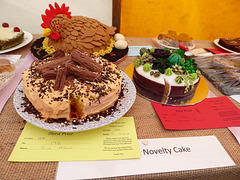 Novelty Cake winners, Betley Show, Staffordshire.