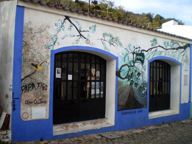 Commercial street art.