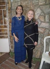 Marly Prates com Marlise Rezende