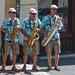 dans les rues de Neuchâtel - malheureusement je ne connais pas le nom du groupe ... (© Buelipix)