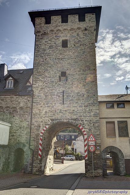 Westlicher Torturm - Dausenau