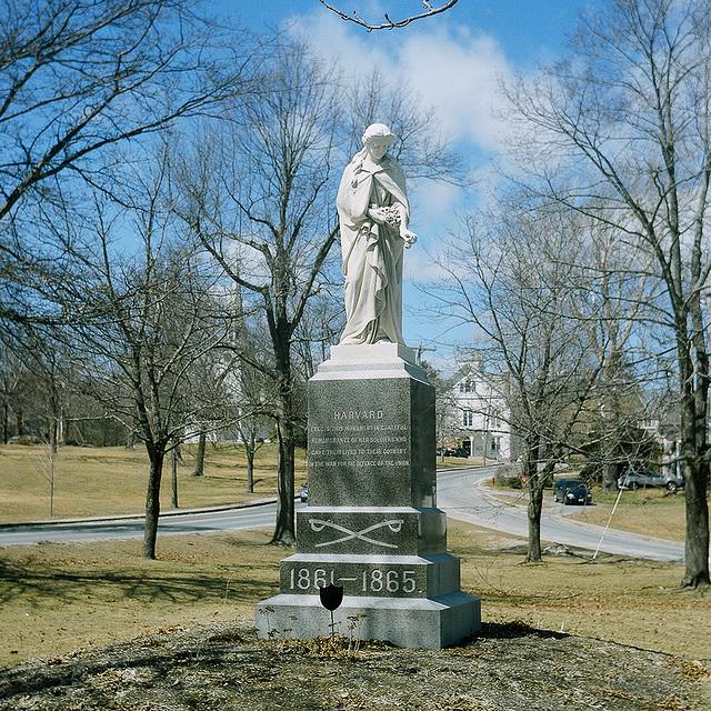 Harvard war memorial