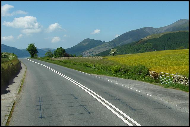 slopes of Skiddaw