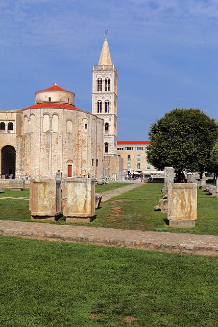 Zadar - Die Kirche St. Donatus