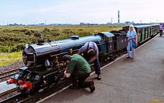 Romney, Hythe & Dymchurch Railway in Dungeness