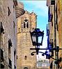 Barcellona : dietro la cattedrale in restauro