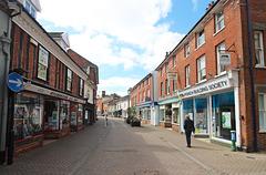 Thoroughfare, Halesworth, Suffolk