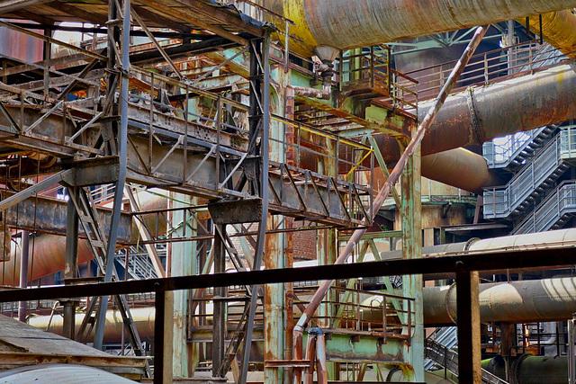 Völklinger Ironworks, Saarland, Germany - 2017-06-04 091