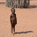 Namibia, Himba Girl in the Village of Onjowewe