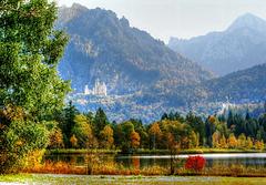Autumn on the Swan Lake.  ©UdoSm