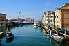 Chioggia 2017 – Vega manœuvring in harbour