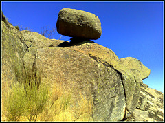 The granite of La Machota Chica.