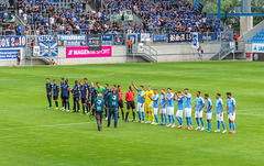 3. Liga - 1. Spieltag 2019/20 - Chemnitz FC vs. Waldhof Mannheim