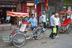 Cyclo driver in Hanoi