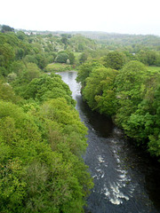 Overview to River Dee.