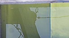 Zaun im Wasser  - (PiP)