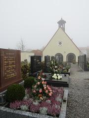 Gräberreihe in Leonberg
