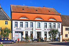 """Werben, """"Kaufhaus"""""""