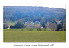 Stanmer House from Richmond Hill - 1.4.2016