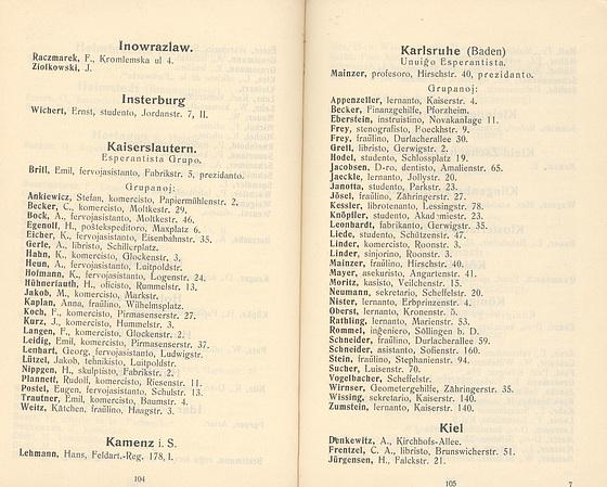 H. Jürgensen en Germana Jarlibro 1908
