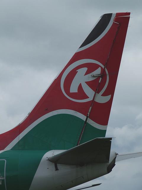 Fin of Boeing 737-700 2-RLAH