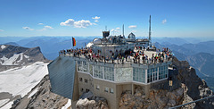 The Middle Summit of The Zugspitze