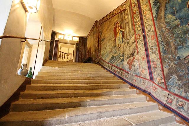 Staircase, Hardwick Hall, Derbyshire