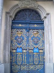 Door of the University Museum.