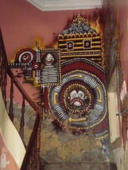 Staircase of Cultural Association Black Market.