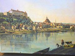 Canaletto - Blick auf Pirna von Copitz