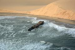 Namibia, Shawnee Shipwreck and the Dune of Namib Desert