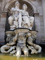 Wien, Danubius-Brunnen