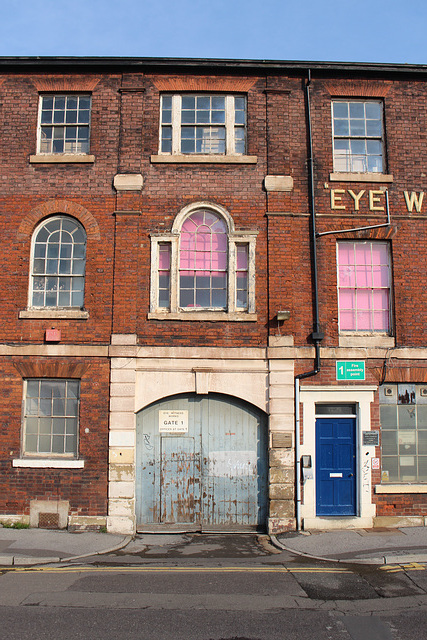 Former 'Eye Witness Works', Milton Street, Sheffield, South Yorkshire