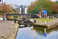 Cambrian Lock, Birmingham and Fazeley Canal