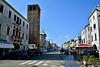 Chioggia 2017 – Corso del Popolo with the Clock Tower of the San Andrea