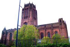 UK - Liverpool - Cathedral