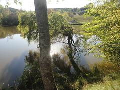 autour du lac....!