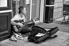 Musicien. ( Je suis libre ).