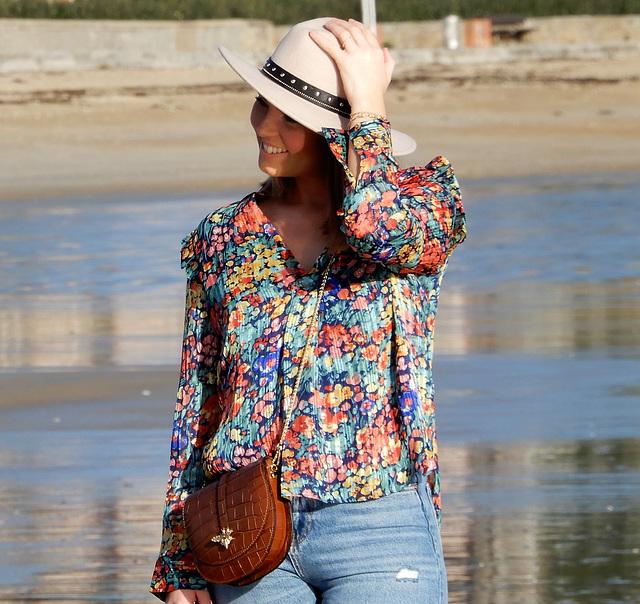 shooting à la plage