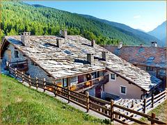 Jouvenceaux : i tetti della borgata - (709)