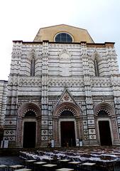 Siena - Battistero di San Giovanni