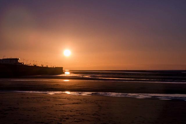 Sunset at New Brighton323