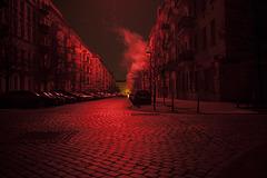 stromausfall in schwarzrot / blackout in black&red