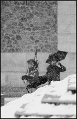 Montmartre sous la neige (I)